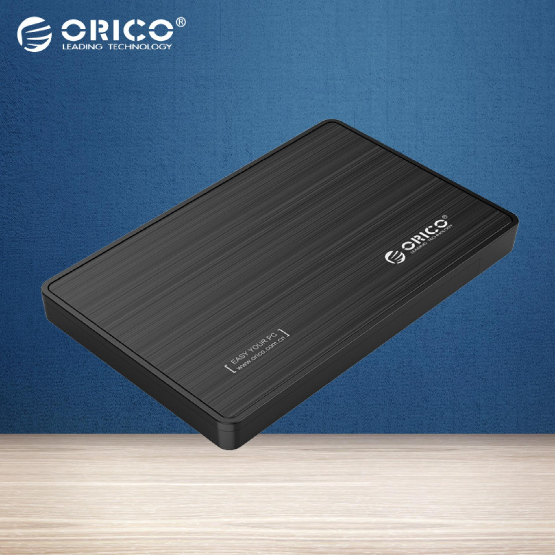 Orico 2588us3 External 25 Hard Disk Drive Ssd Enclosure Case Usb 6228us3 C 2bay Docking Harddisk 30 Black Singapore