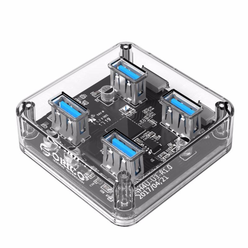 ORICO USB3.0 Transparent Desktop HUB (MH4U-U3)