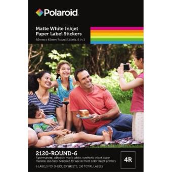 Polaroid Photo Stickers(2120-ROUND-6)