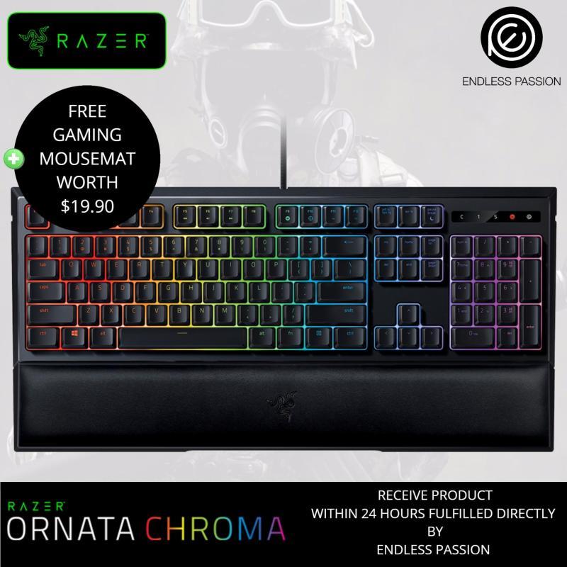 Razer Ornata Chroma – Revolutionary Mecha-Membrane Gaming Keyboard