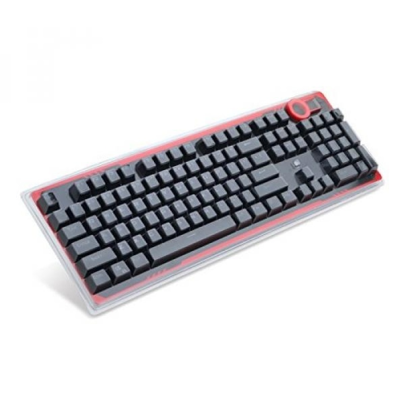Redragon A101 Double-Shot Injection Molded Mechanical Keyboard Keycaps With Key Puller (Black) - intl Singapore