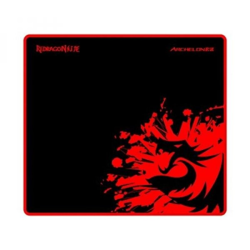 Redragon P001 ARCHELON Gaming Mouse Pad, Stitched Edges, Waterproof, Ultra Thick Silky Smooth 12.99 x 10.24 x 0.2 inches - intl Singapore