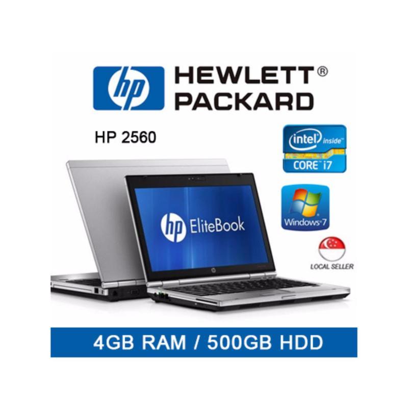 Refurbished HP 2560 Laptop / 12.5 Inch / Intel i7 / 4GB RAM / 500GB HDD / Jap Keyboard / Win 7 / 1mth Warranty