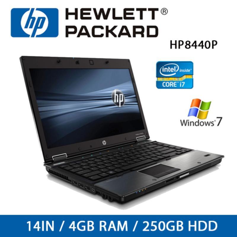 Refurbished HP 8440P Laptop / 14 Inch / I5 / 4GB RAM / 250GB HDD / Win 7 / One Month Warranty