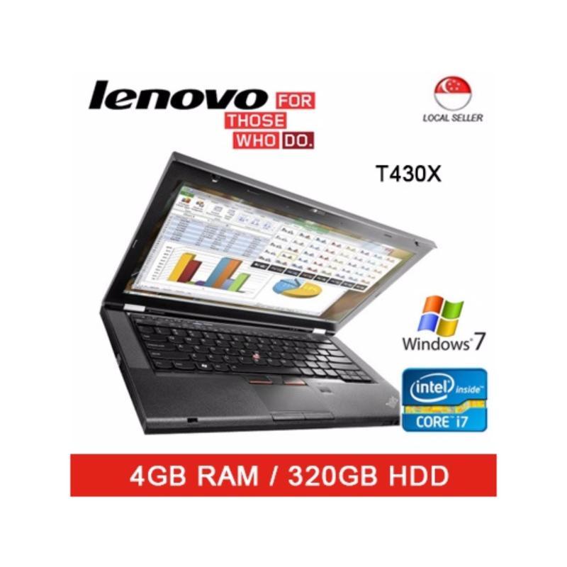 Refurbished Lenovo T430S / 14in Laptop / Intel I7 / 4GB RAM / 320GB HDD / Thai Keyboard / Win7 / 1mth warranty