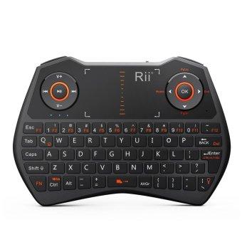 Rii Mini i28C 62 Keys 2.4GHz + Backlight Mini Keyboard - Black - intl