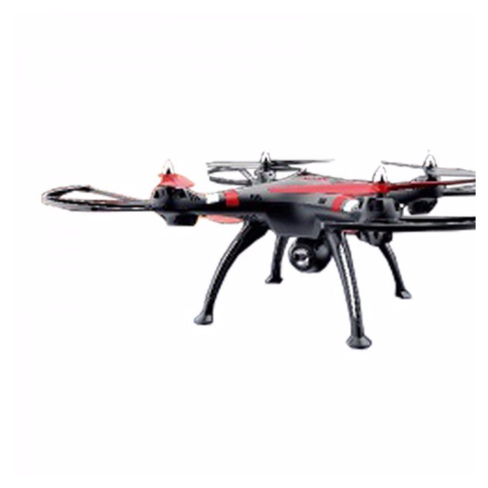 Samurai Jupiter Red/Black Camera Drone R/C QUADCOPTER