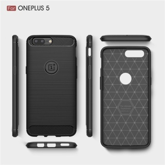Soft Drawing Silicone Back Cover Case For One Plus 5 / One Plus Five - intl - 3