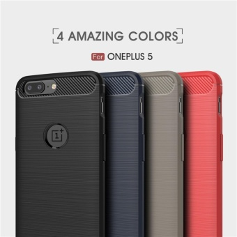 Soft Drawing Silicone Back Cover Case For One Plus 5 / One Plus Five - intl - 2
