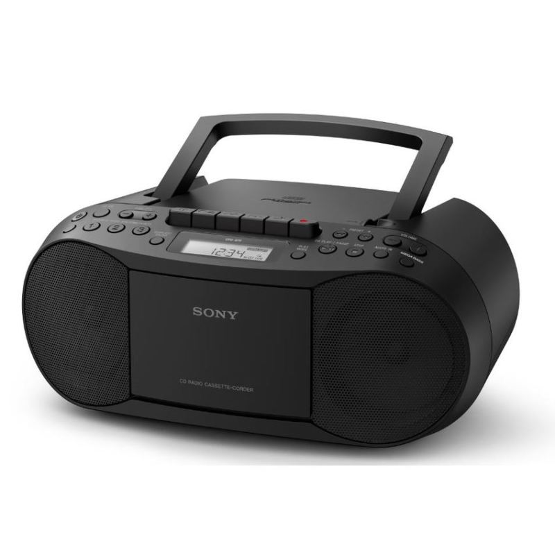 Sony CFD-S70 CD/Cassette Boombox with Radio (BLACK) Singapore