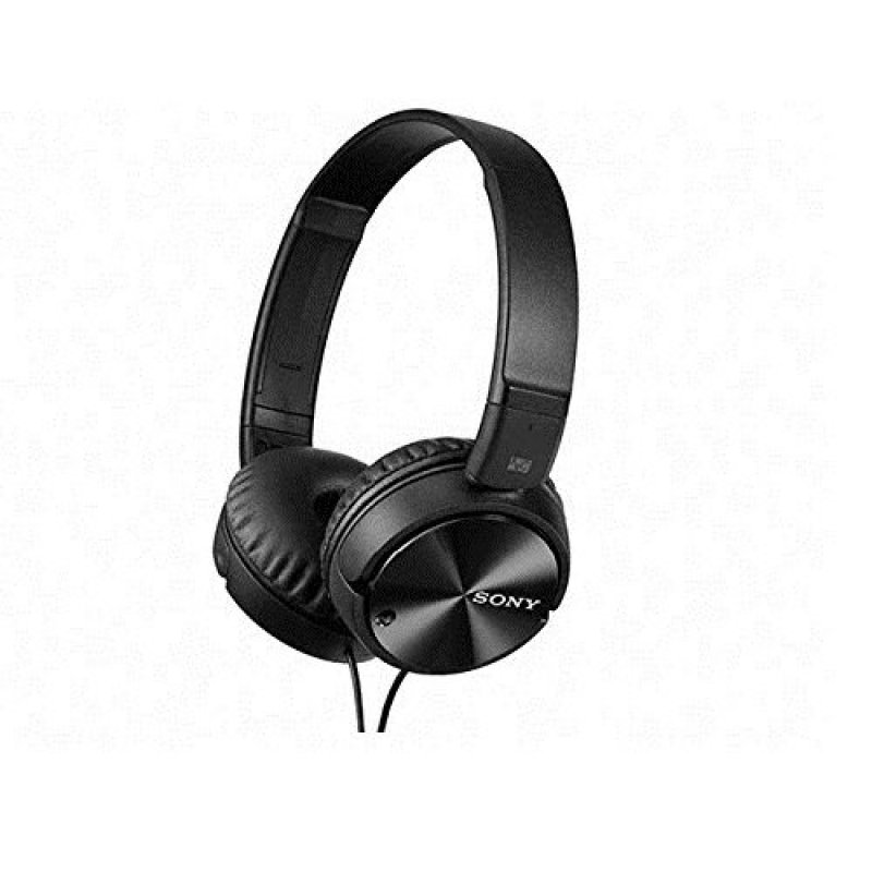 Sony Noice Cancellation On-Ear Headphone MDR-ZX110NC (Black) Singapore