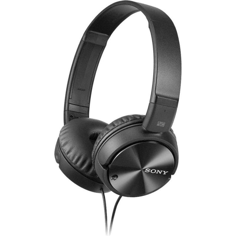 Sony MDRZX110NC/ME Noise Canceling Foldable Headband Headphones Black Singapore