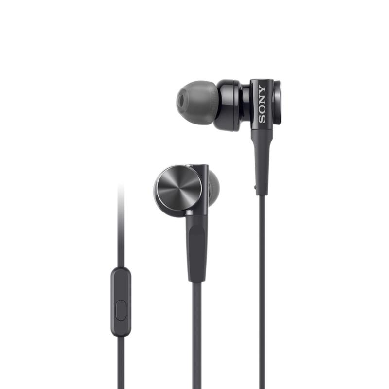 Sony Singapore MDR-XB75AP EXTRA BASS In-Ear Headphones (Black) Singapore