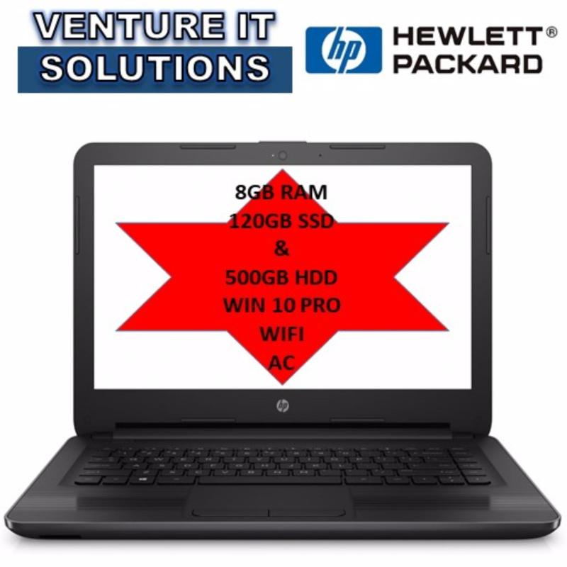 [SPECIAL VERSION] HP 240 G5 N3060 8GB 120SSD+500HDD AC3165 WIN 10 PRO