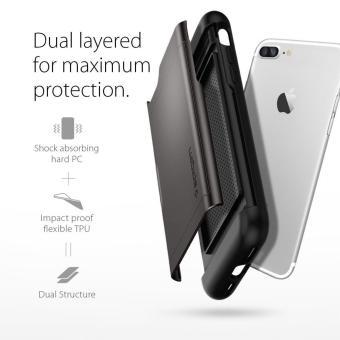 Spigen Slim Armor CS Series Case for iPhone 8 Plus / 7 Plus(Gunmetal) - 4