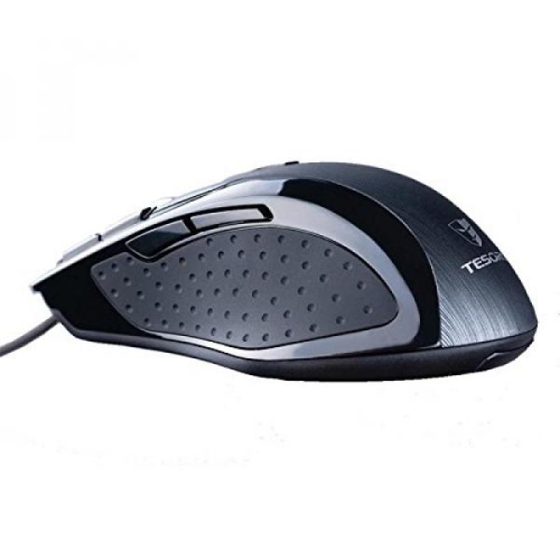 Tesoro Shrike H2L V2 8200 DPI 8 Programmable Onboard Memory Key Adjustable Weight Gray Laser Gaming Mouse TS-H2L (GY) Singapore