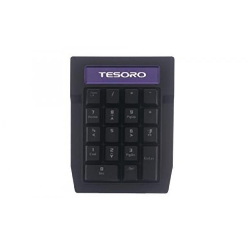 Tesoro Tizona Numpad G2N-P Blue Mechanical Switch Tenkey Tournament Gaming Numeric Mechanical Keypad TS-G2N-P (BL) Singapore
