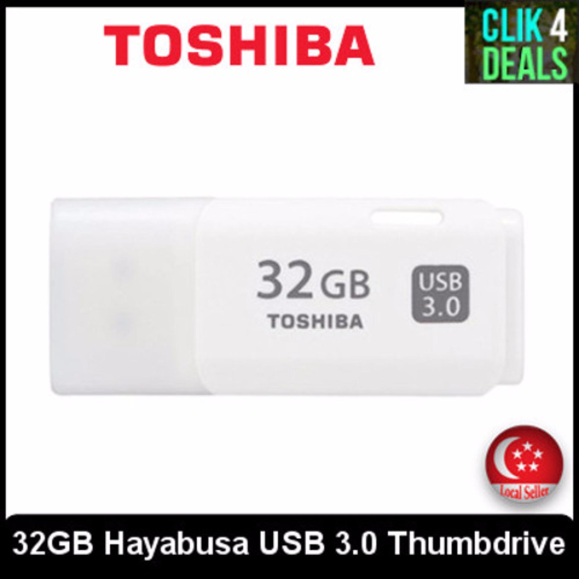Toshiba Transmemory U301 32gb Usb Thumbdrive Flash Drive Memory Disk 32 Gb Hayabusa Original Local Set Singapore