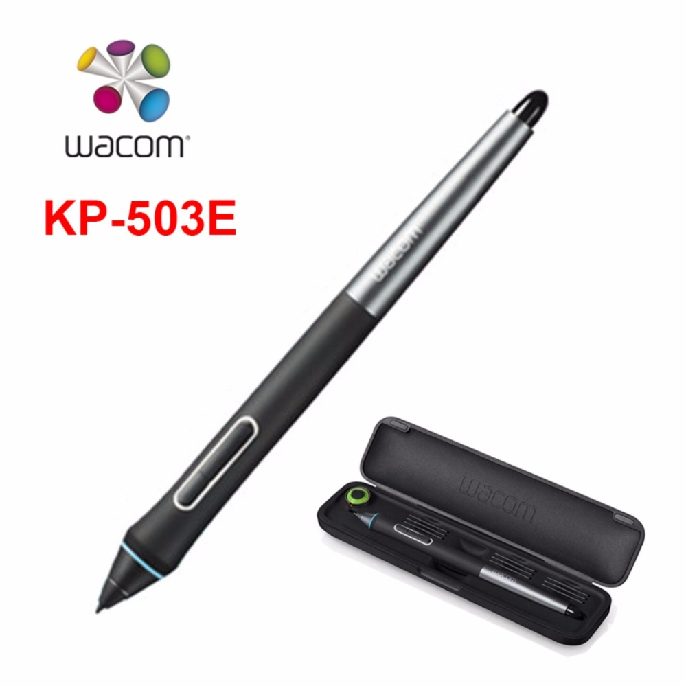Wacom Pen Kp 503e Graphic Tablet Stylus For Intuos Pro Ctl 4100 K0 Cx 4 5
