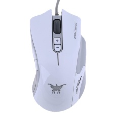 b4991648bf1 Wired 4800DPI 7 Keys Ergonomic E-Sports Gaming Mouse with RGB Backlight  (White) - intl Singapore