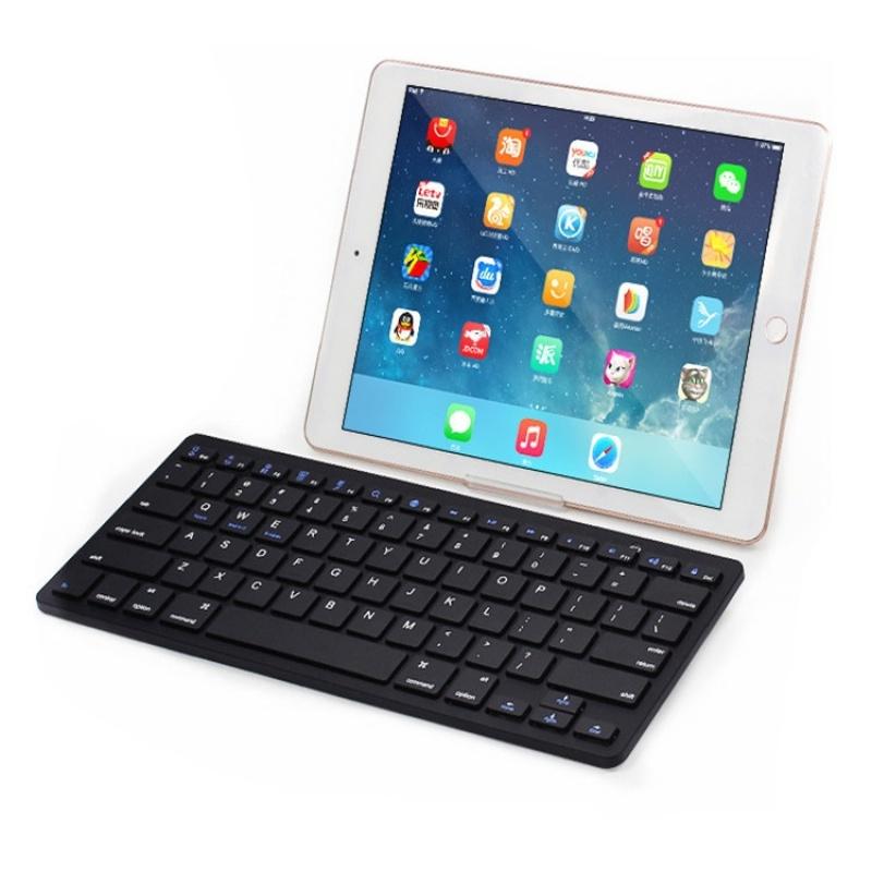 Wireless Bluetooth Keyboard Iphone Ipad Tablet PC Universal Ultra-thin Keyboard - intl Singapore