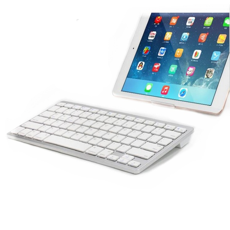 Wireless Bluetooth Keyboard Iphone Ipad Tablet PC Universal Ultra-thin Keyboard - intl Singapore