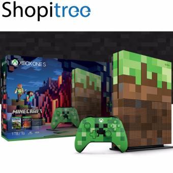 Xbox One S 1TB Minecraft Limited Edition Bundle   Lazada Singapore