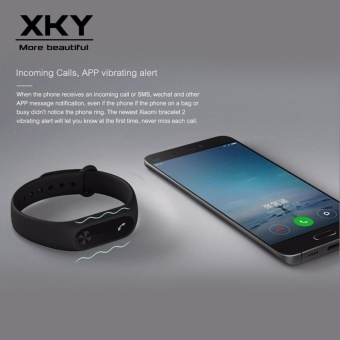 Xiaomi Mi band 2 LED display (Original Black) - 4