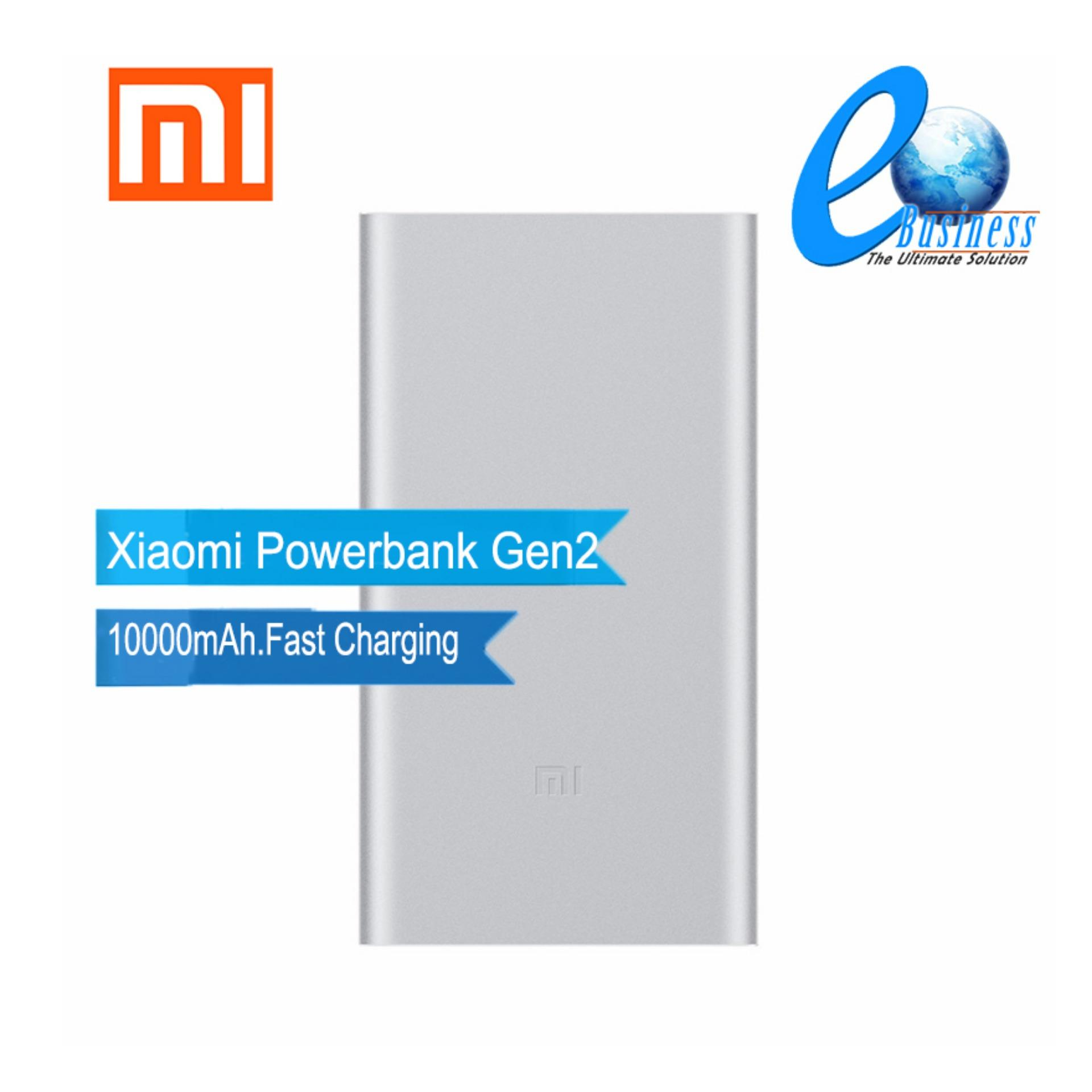 Buy Xiaomi Mi Powerbank Battery 10000mah 2nd Singapore Power Bank 2 Original Slim Fast Charge
