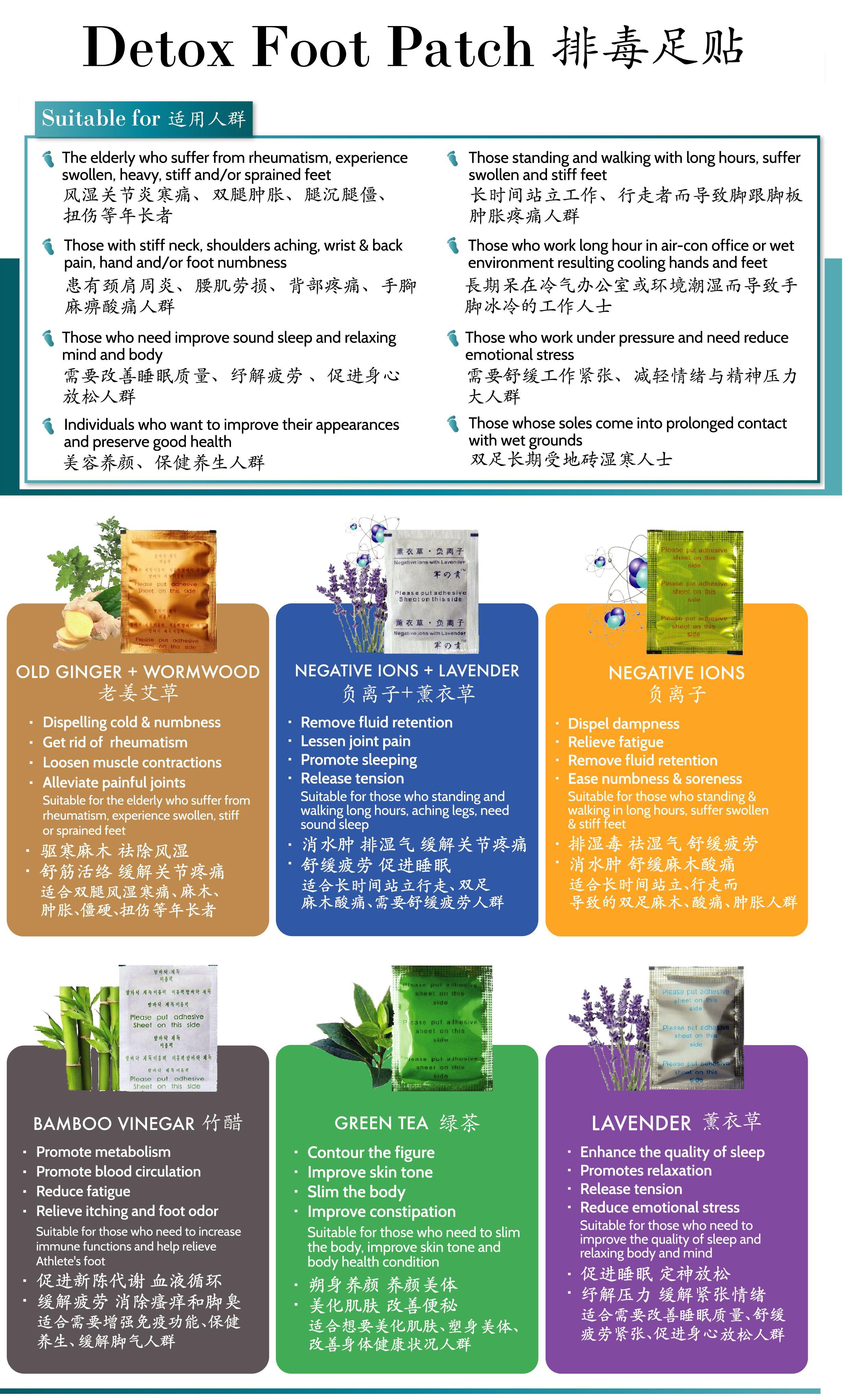 bamboo vinegar detox patch review