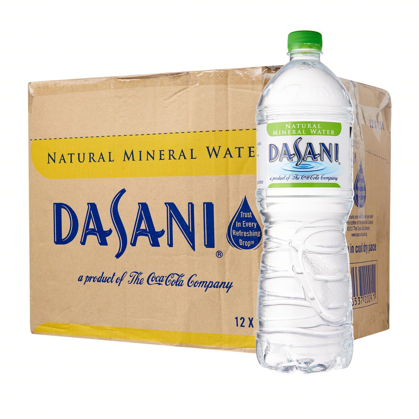 Image result for dasani natural mineral water
