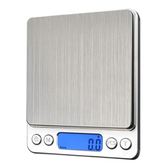 1000g x 0.1g Digital Pocket Scale Jewelry Weight Electronic BalanceScale - intl
