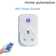 100V-240V UK Standard Smart Home Automation Wifi Wireless Remote Control  Power Socket Switch Alexa Voice Control For IOS Android App - intl Singapore