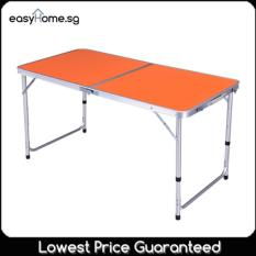 120cm x 60cm Portable Foldable Aluminium Table