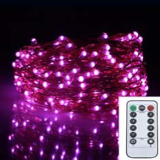 12M 240LED 8Modes Copper Wire 6AA Battery Operated Led Holiday Lights Fairy Lights Decoration Wedding Garland Chrismas String Lights Outdoor - intl