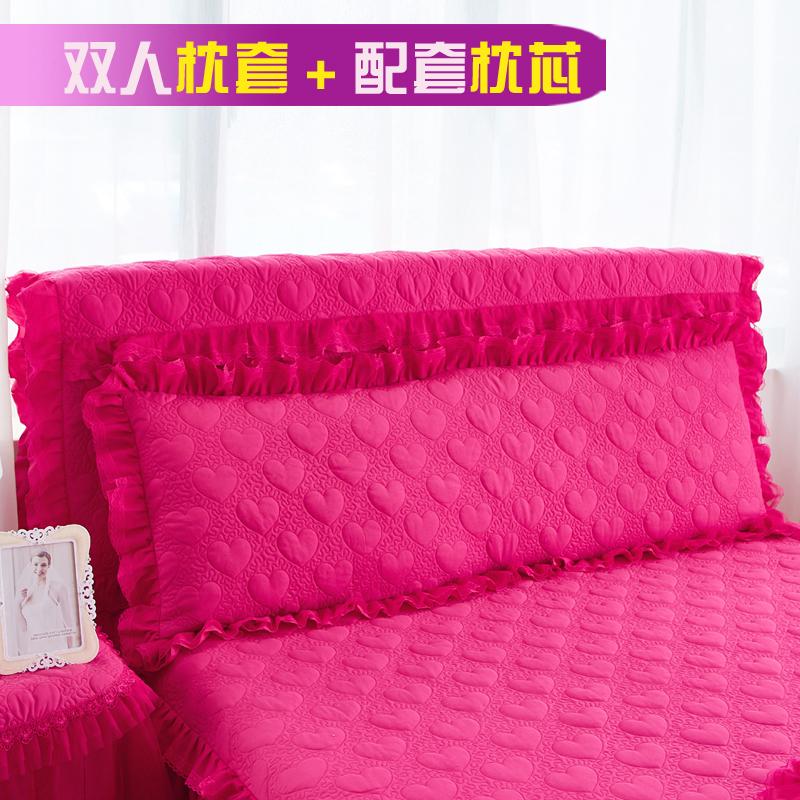 150cm one pair of 1.8 m * Cotton long pillow long pillowcase