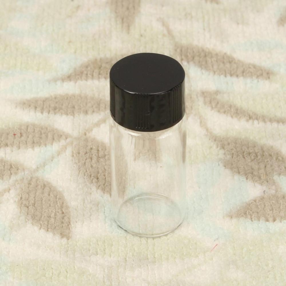1/5/10Pcs 10ml Empty Clear Glass Bottles Vial Pendant Wishing Bottle With Cap - intl