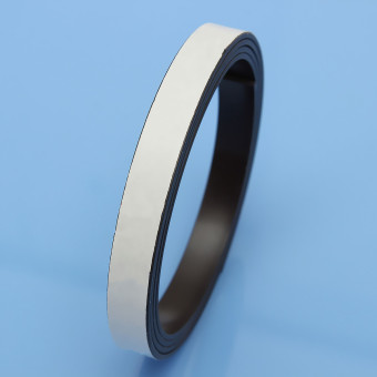 1M Black Self Adhesive strong Magnetic Soft Magnet Strip Tape Roll 12 x 2 mm - 4