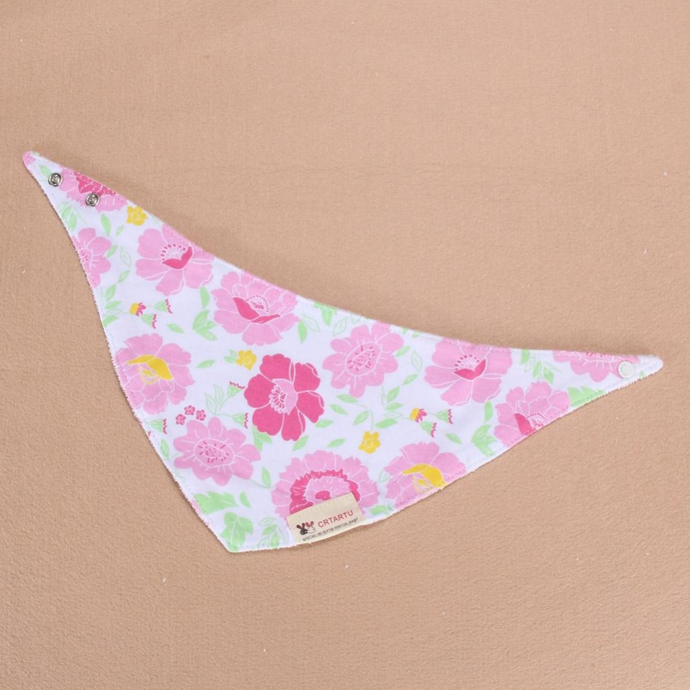 1set/3pcs Bib Bandana Cotton Bandana Kids Animal Baby Infant Saliva Towel9 - intl