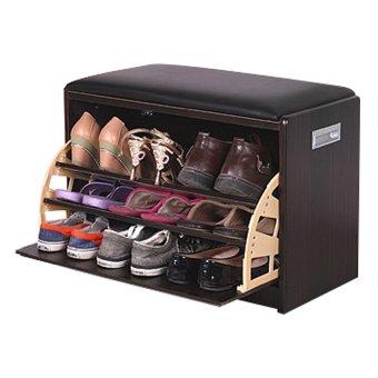 2 in 1 Shoe Cabinet Stool Storage Organizer Black - Medium  sc 1 st  Lazada Singapore & 2 in 1 Shoe Cabinet Stool Storage Organizer Black - Medium ... islam-shia.org