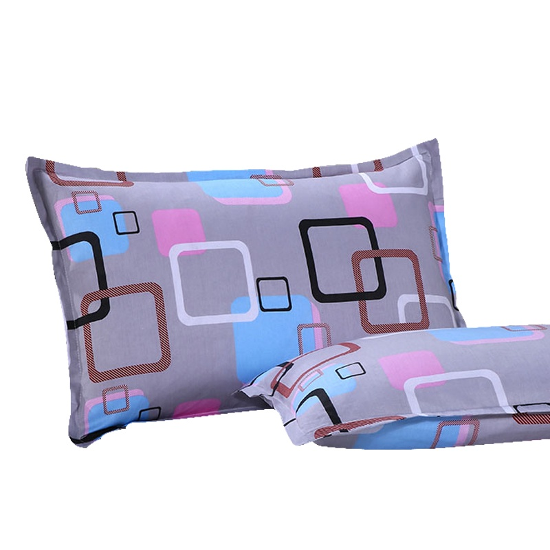 2016 special cotton pillow cover student pillow one pair of cotton single pillow with qualified products pillowcase