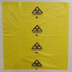 24 x 36 Yellow Biohazard Bag Autoclavable