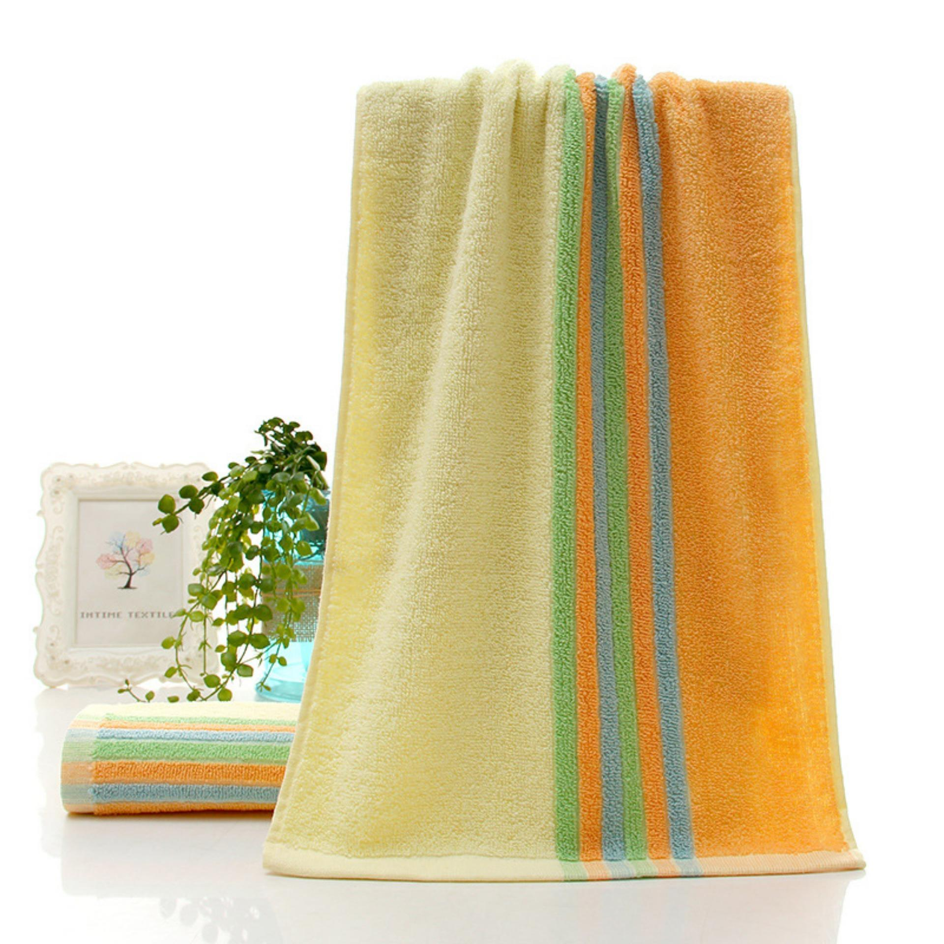 3 pcs Magic cotton Soft Bath Towel Adult Children 100% cotton -intl