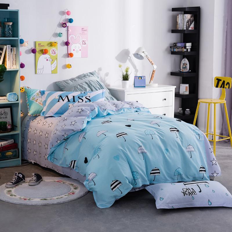 3 three cotton Student Dormitory piece cotton bedsheet