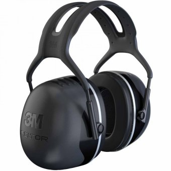 3M(TM) Peltor(TM) X5A Over-the-Head Earmuffs, Noise Reduction Rating 31dB