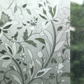Xcm Waterproof PVC Privacy Frosted Home Window Sticker Glass - Window stickers for home singapore