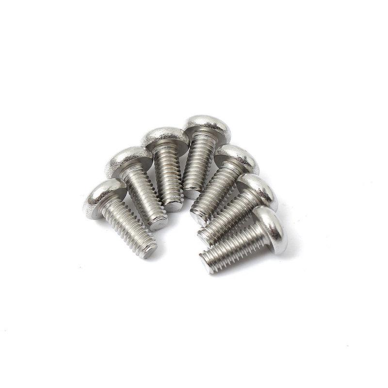 50 PCS M4 Bolts Nuts Screw Diameter 6mm (EXPORT)