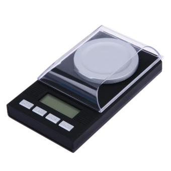50g/0.001g Jewelry LCD Digital Scale Lab Weight Milligram Scale Medicinal - intl
