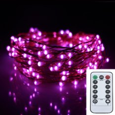 6M 120LED 8Modes Copper Wire 6AA Battery Operated Holiday Lights Chrismas String Lights Outdoor Led Fairy Lights Decoration Wedding Garland - intl