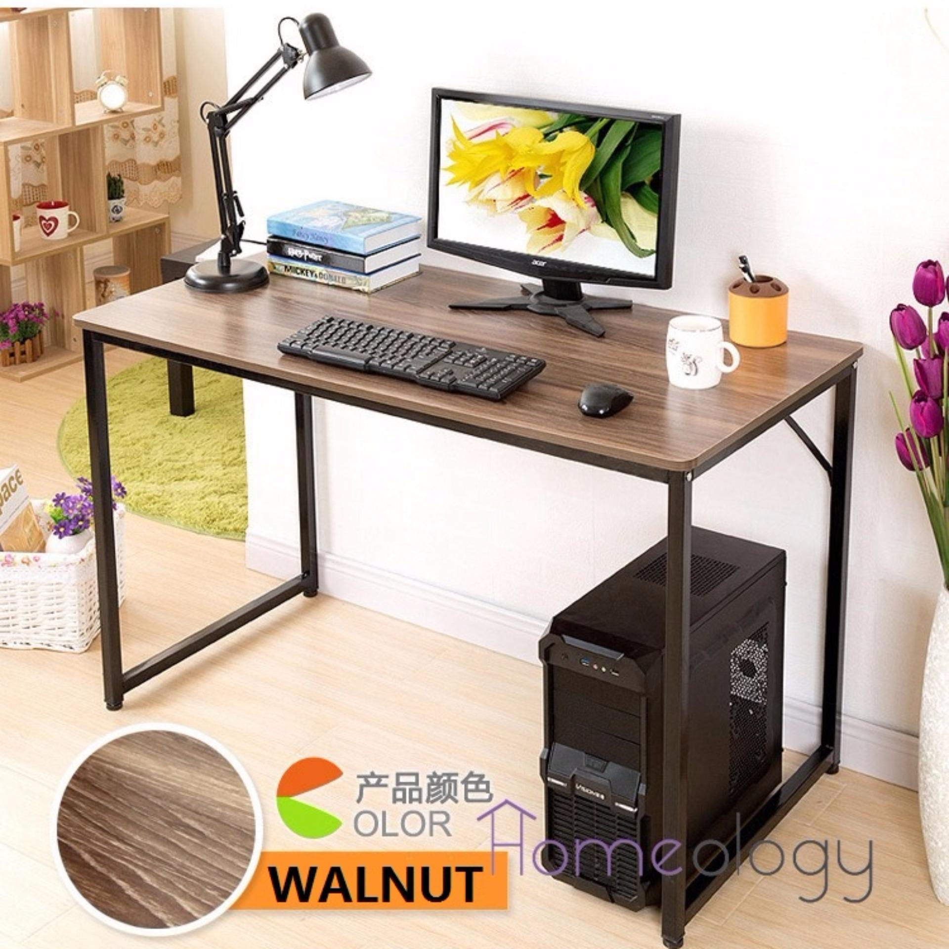office study desk. 8048 modern study computer table space saving office desk lazada singapore